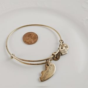 Alex and Ani Rafaelian Gold Best Friends Bracelet
